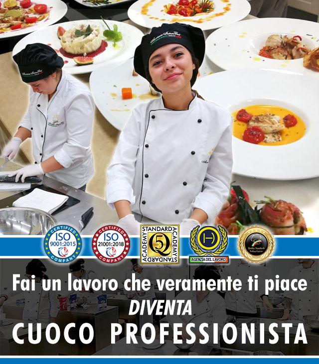 Scuola di Cucina a Milano: Corso di Cuoco Professionista.