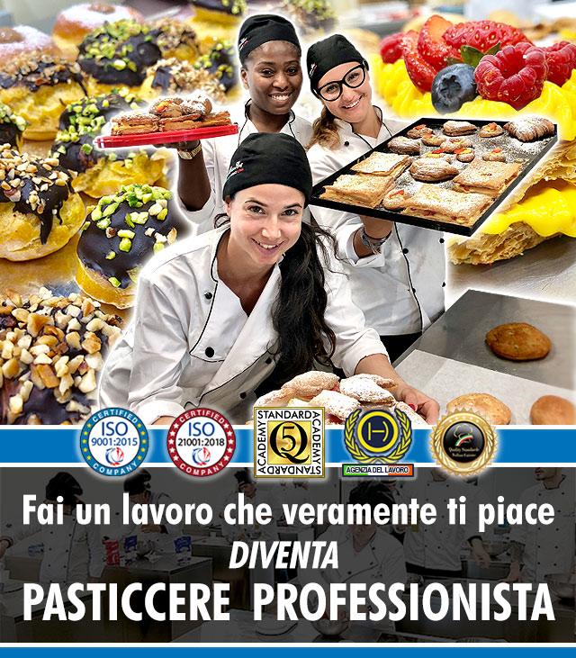 Scuola di Cucina a Milano: Corso di Pasticceria Professionale.