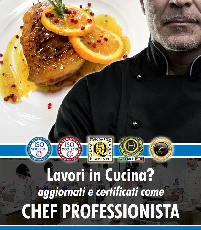 Scuola di cucina a Milano - Corso di Chef Professionista