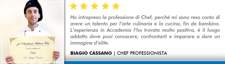Corso Chef a Milano Opinioni - Cassano