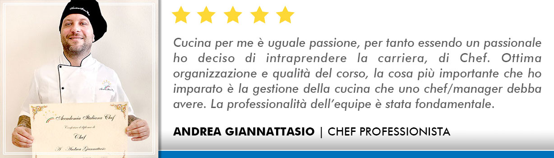 Corso Chef a Milano Opinioni - Giannattasio