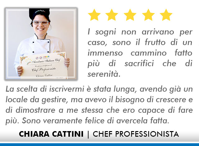 Corso Chef a Milano Opinioni - Cattini