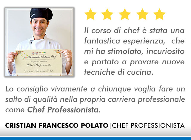 Corso Chef a Milano Opinioni - Polato