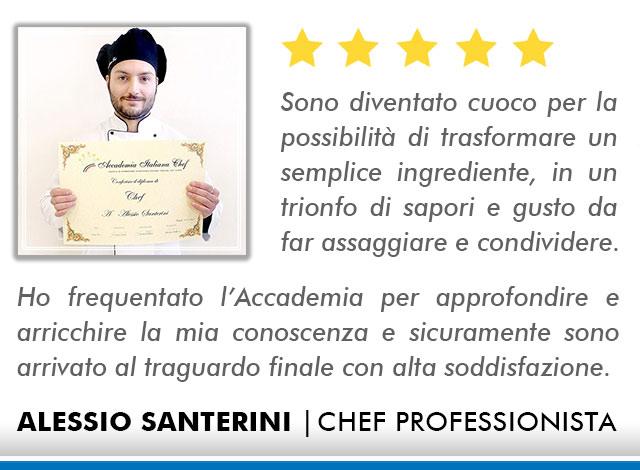 Corso Chef a Milano Opinioni - Santerini