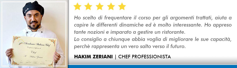 Corso Chef a Milano Opinioni - Zeriani