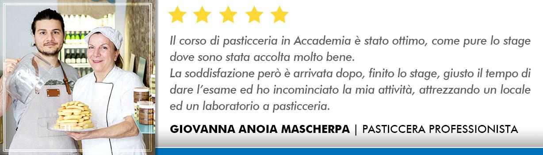 Corso Pasticcere a Milano Opinioni - Anoia-Mascherpa