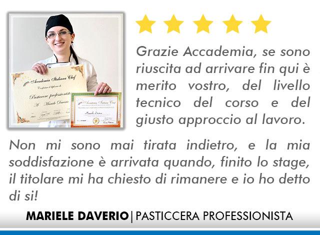 Corso Pasticcere a Milano Opinioni - Daverio
