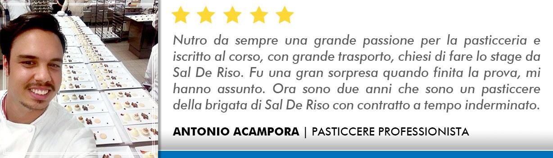 Corso Pasticcere a Milano Opinioni - Acampora