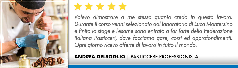 Corso Pasticcere a Milano Opinioni - Delsoglio