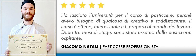 Corso Pasticcere a Milano Opinioni - Natali