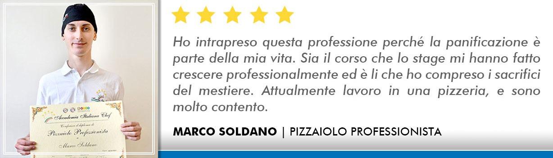 Opinioni Corso Pizzaiolo Milano - Soldano
