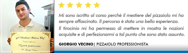 Opinioni Corso Pizzaiolo Milano - Vecino